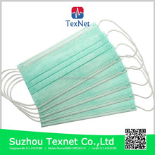 Texnet Medical Consumabes For Disposable Nonwoven 3 ply Surgical Face Mask
