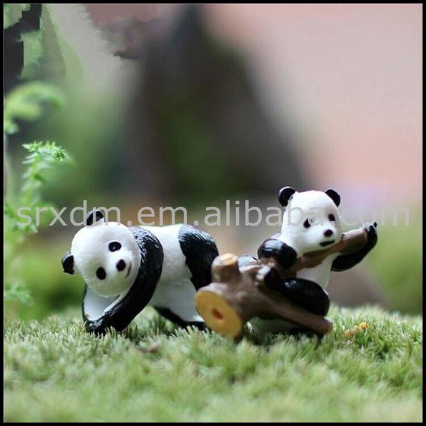 mini panda shape action figures, Make custom panda action figures, Make custom mini panda shape action figures manufacuture