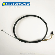 high quanlity hot sale argentina model YBR125 CHINA accelerator cable, YBR 125 CHINA throttle cable for motorcycle