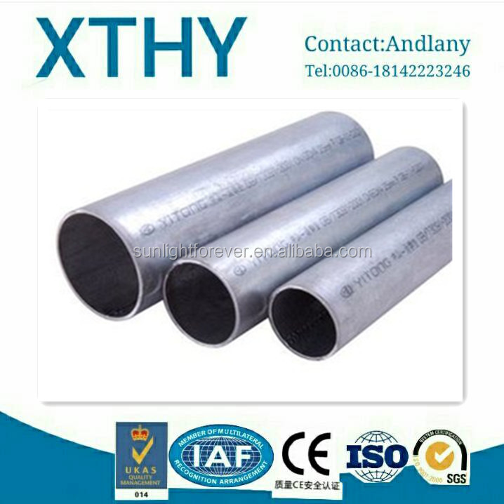 miled steel pipe use for construction galvanized steel pipe ASTM A53 A106 made in China