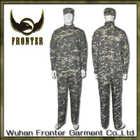 Rip-stop wholesale long sleeve camo digital t shirts ACU
