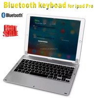 ultra-thin Wireless Bluetooth Aluminum Keyboard Case For iPad Pro ipad12.9 inch