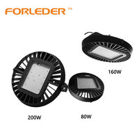Industrial Fixture High Power IP65 80W 100W 120W 150W 160W 200W UFO Led High Bay Light