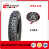 WSX-038 China Manufacture Price Motorcycle Tire 3.50-8