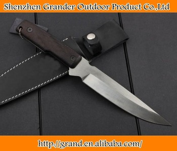 g10 handle sanding guard knife 8Cr18Mov blade 58HRC multifunction knife 4434