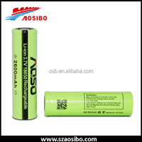 Alibaba new products ICR18650 flashlight battery ICR18650 2600mah power tool battery