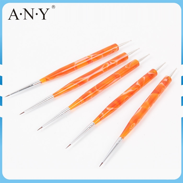 ANY Nail Art Beauty Design Double Use Nail Art Dotting Tools and Brushes