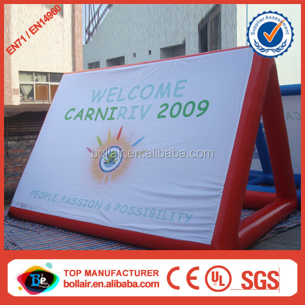 Promotion sale customized durable inflatable water billboard