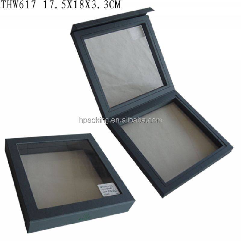 wholesale antique design black wooden jewelry display box
