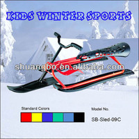 Durable Inflatable Snow Sled for Both Kids and Adults