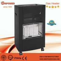 4200W ceramic mobile gas heater, portable gas heater