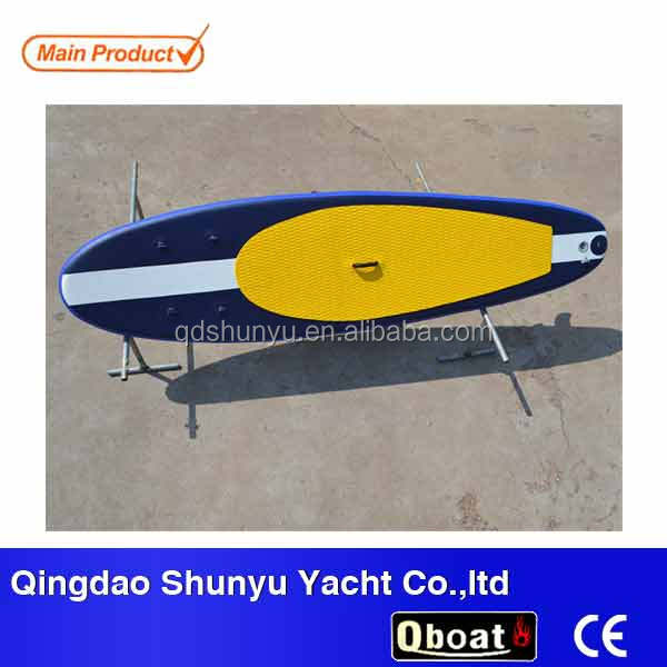 "CE 4""or 6""korea drop stitch high quality cheap Yoga inflatable sup soft surfboard for sale"