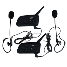 2 User Talk at same time V6C Referee Interphone Wireless Bluetooth Intercom Headset