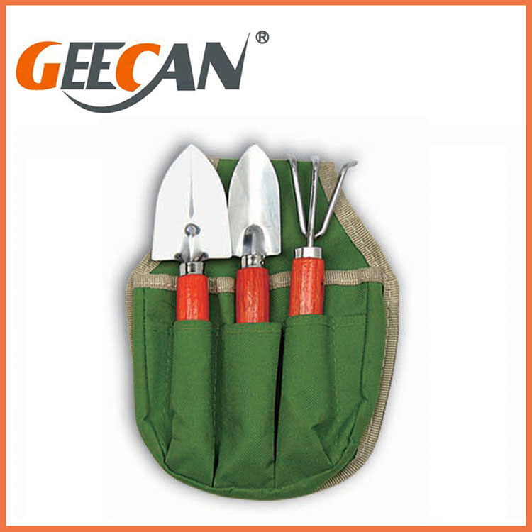 3PCS Small Metal Garden Hand Tool Sets with Gift Bag