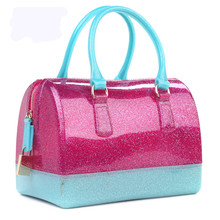 Latest Designer Bags Ladies Handbags 2017 Blue Silicone