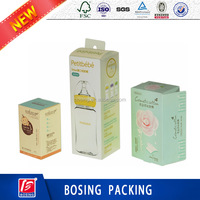 custiom manufacture baby nursing bottle paper packaging packing box