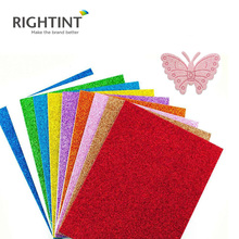 High Quality a4 Non Toxic Grade self adhesive pp glitter film