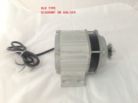 electric tricycle low price old type 250w dc electric low rpm dc motor