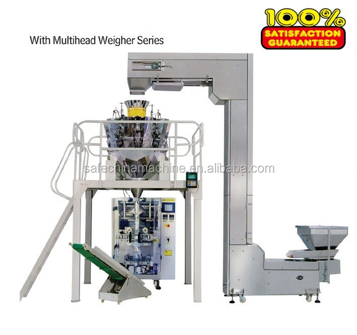 Customized Easy operation Automatic Potato chips used packing packaging machine VFFS