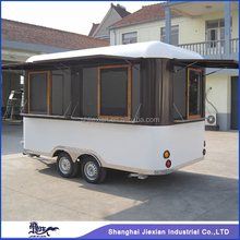 Shanghai JX-FS400R Caravan Mobile Kitchen Trailer/Food Concession Truck/Fast Food Trailer