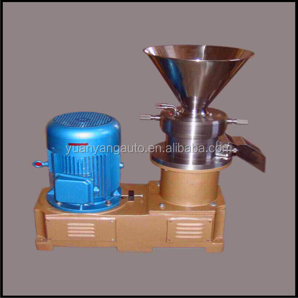 50-100 kg/hour stainless steel Chocolate paste making machine/ Colloid Grinder/Colloid mill