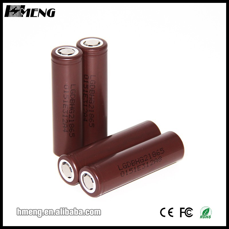 Chocolate lg high discharge battery lg hg2 18650 3000mah 35A discharge 3.7V rechargeable battery for
