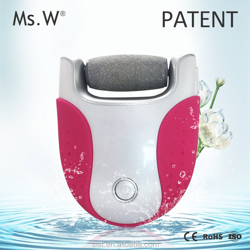 2016 new products mini electric foot callus shaver with nail file and foot massage roller