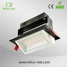aluminium Heat dispelling HIGH LUMINOUS 2w square led cob downlight 2w