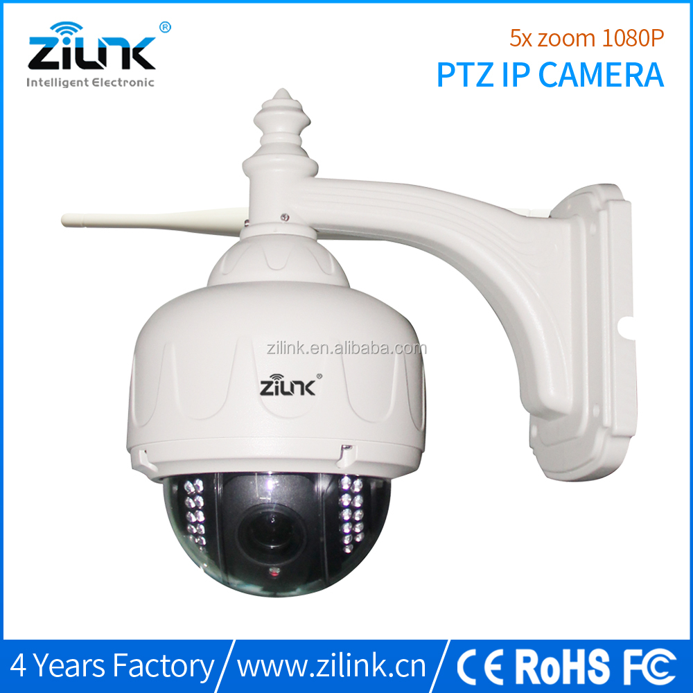 360 wifi camera ip 5 x Optical Zoom with night vision 2MP Outdoor PTZ cctv