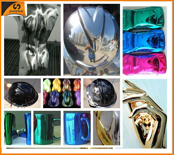 SAT8025 High Quality Silver Mirrors Chrome Paint
