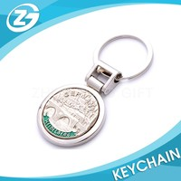 Manufacturer OEM Logo Promotional Fashionable Hottest Custom Brand Design Key Chain Metal