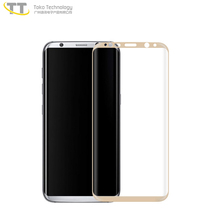 For samsung galaxy s8 color tempered glass screen protector,full size cover screen protector for samsung s8