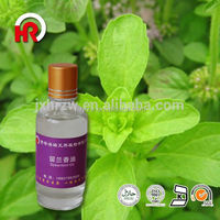 Used for spa fragrance the best quality spearmint oil for Aromatherapy SPA