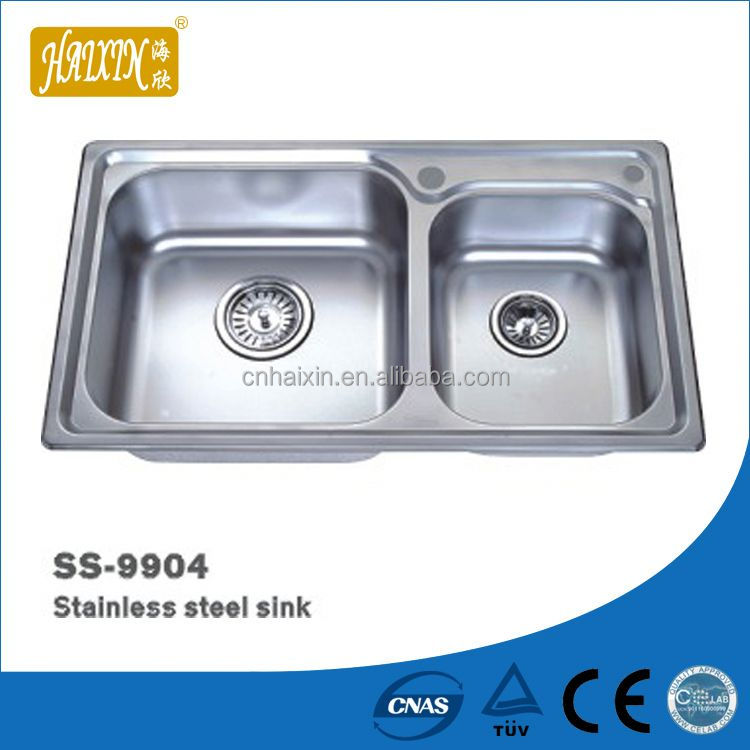 Best Sale 2014 1.5Mm Thick Stainless Steel Sink