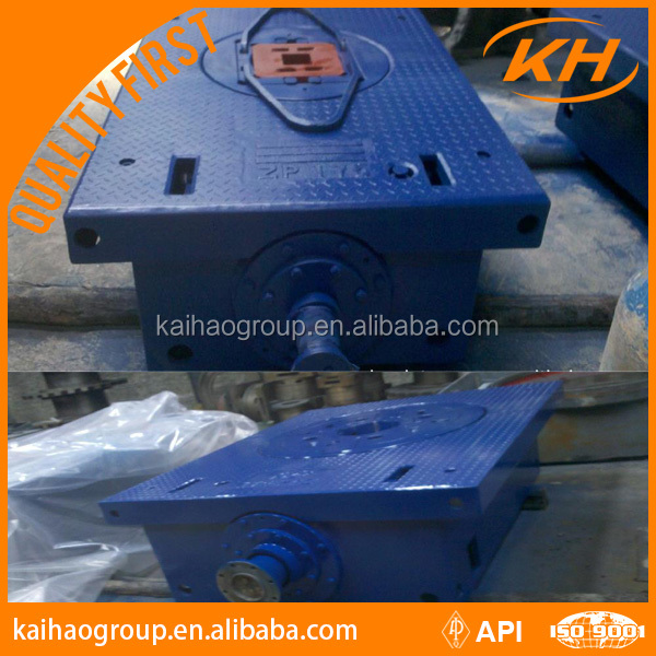 API certificate zp 375 rotary table