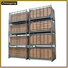 Durable Foldable factory manufacturing foldable metal stack rack