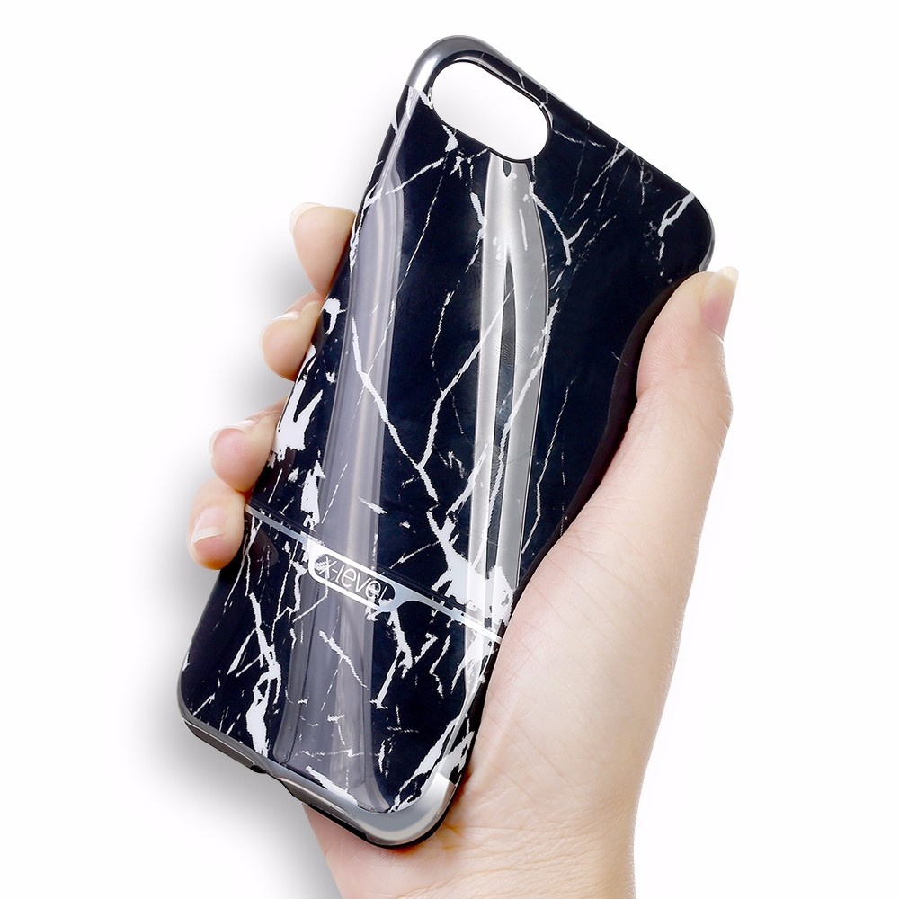 [X-Level] Fashion Black Cover for Marble iPhone Case Wholesale