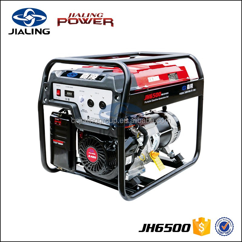 JH6500 5 kva portable ac generator for sale
