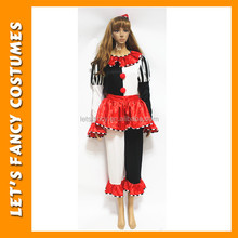 PGWC0041 divertido adulto mujeres traje del Carnaval <span class=keywords><strong>de</strong></span> lujo <span class=keywords><strong>trajes</strong></span> <span class=keywords><strong>de</strong></span> <span class=keywords><strong>payaso</strong></span>