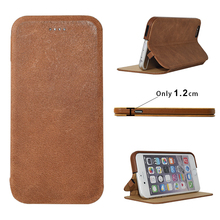 Turkish Market Genuine Oil Wax Leather Black Business men Mobile Phone Case for Lenovo S820