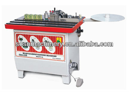 MD516B manual edge bander woodworking tools/ portable edge banding machine with CE