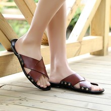 zm23042a wholesale fashion sandals shoes 2017 latest design slipper sandals