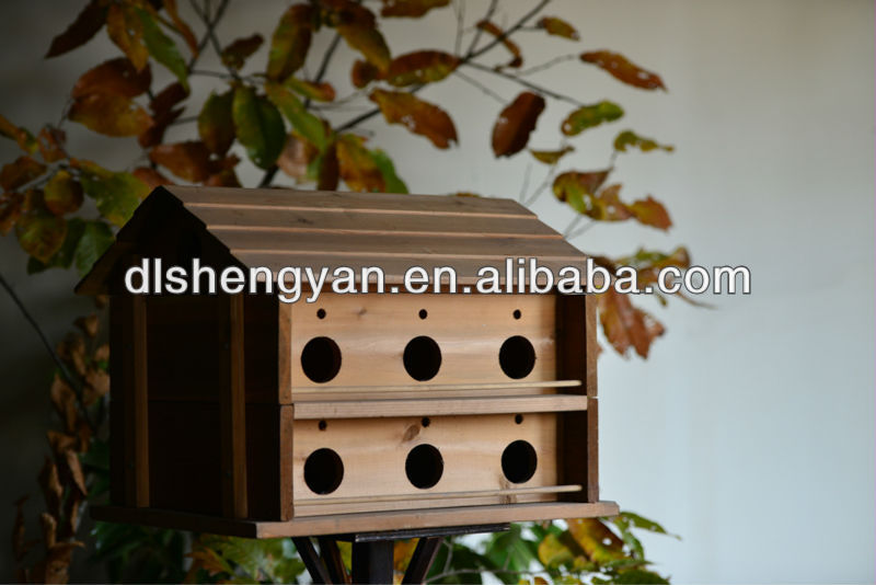 2014 natural wooden layer birds cages big cages for birds