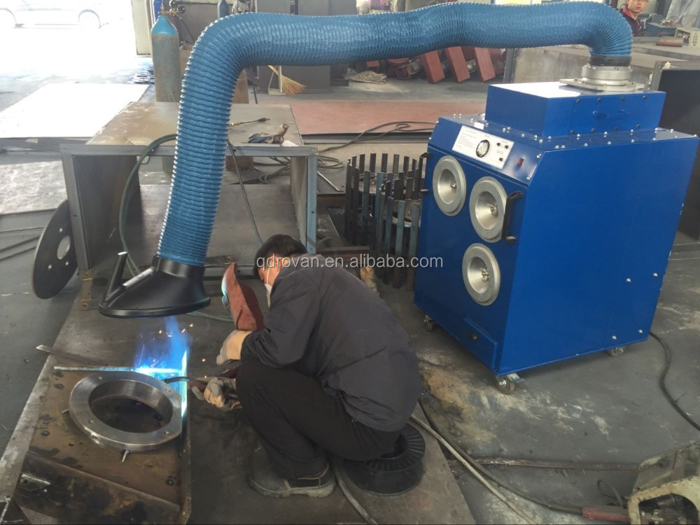 Industrial Plasma Fume Dust Collector, Cutting Fume Dust Cleaning Machine