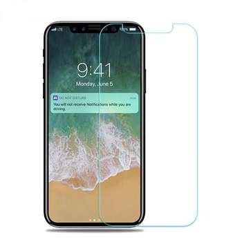 For iphone X 9H 2.5D tempered glass screen protector anti-fingerprint