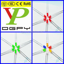 3mm DIP led diodes Red/Green/Blue/White/Yellow/Orange ( CE & RoHS Compliant )