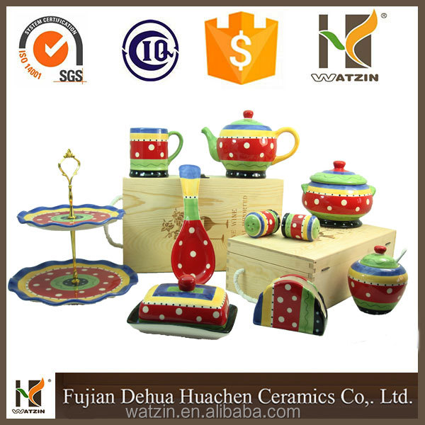 halloween ceramic dinnerware set , Christmas dinnerware set for 2016