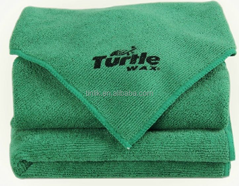 Turtle Wax Microfiber Cleaning Cloth Anti-Scratch Towel Polishing Car Detailing
