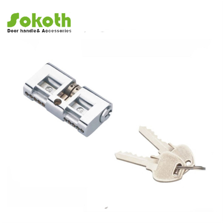 Double open cylinder key internal door design for middle east with best quality pop in Egypt market