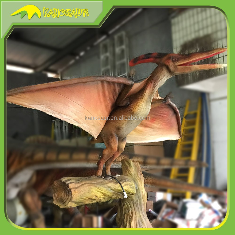 KANOSAUR0202 Attraction Popular Realistic Artificial Animatronic Pterodactyl